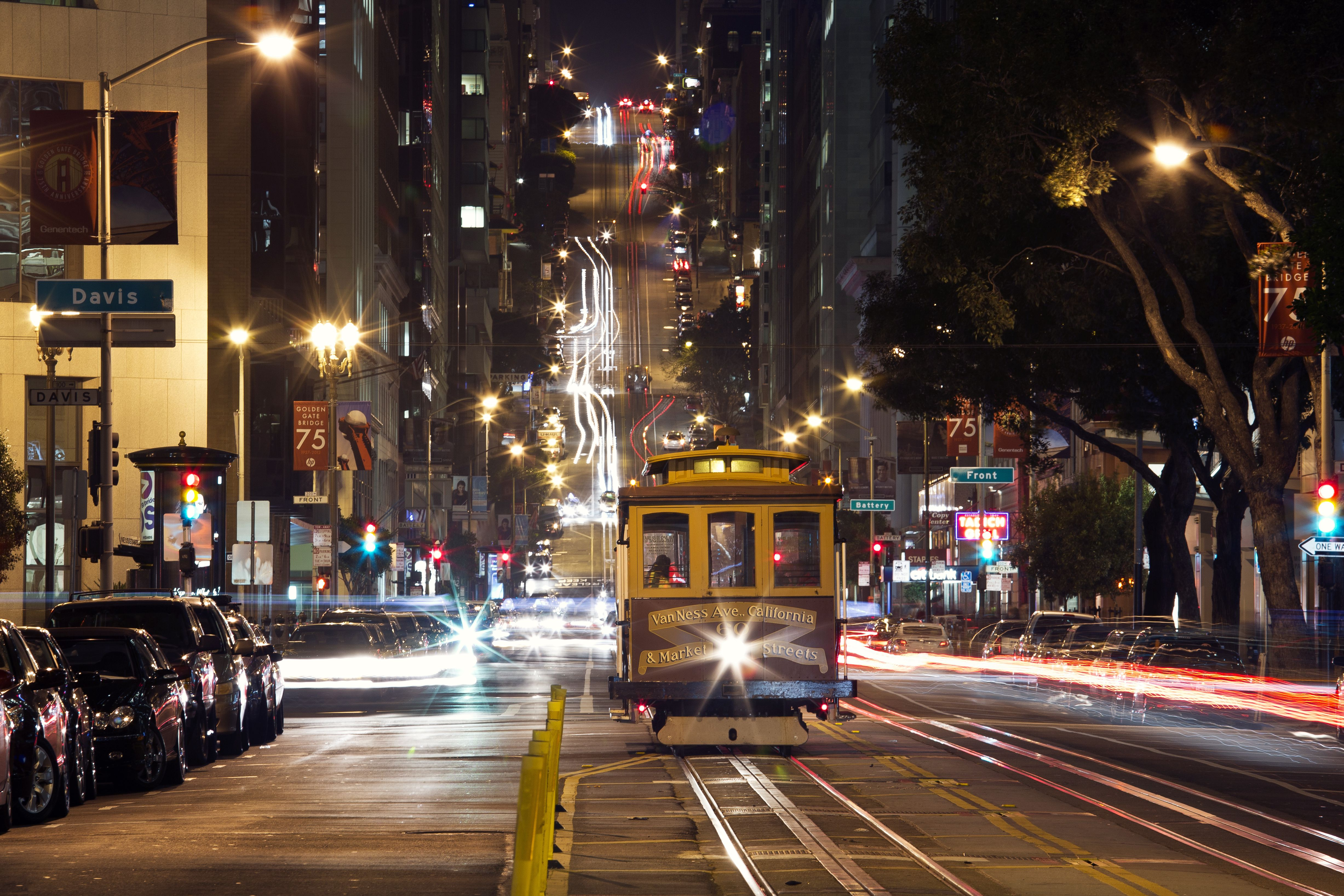 Street Cable Car