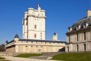 The Chateau de Vincennes is a fortified castle just east of Paris.