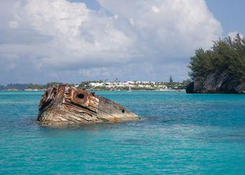 The Vixen shipwreck, Bermuda