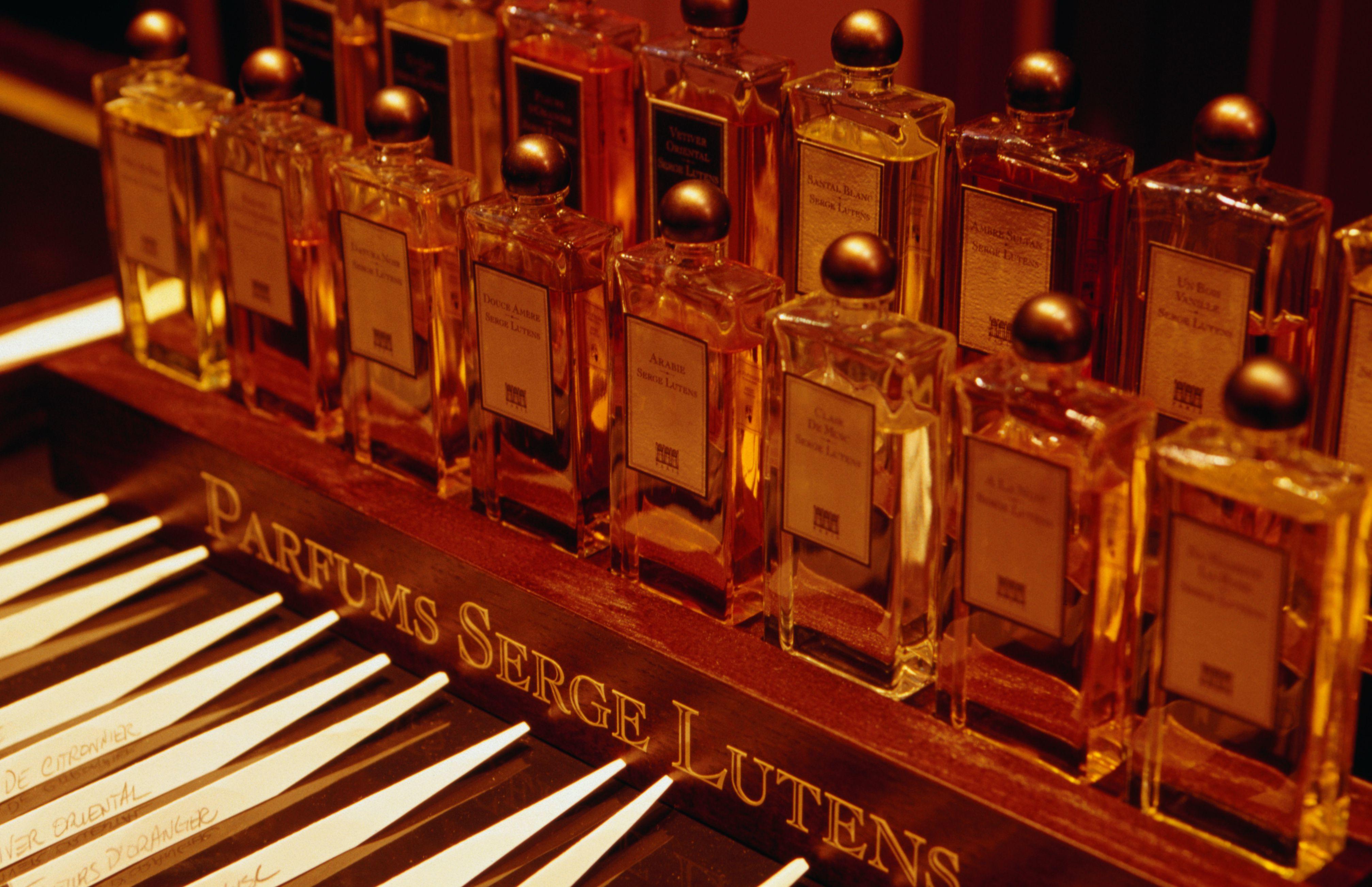 Serge Lutens is a favorite perfumer in Paris.