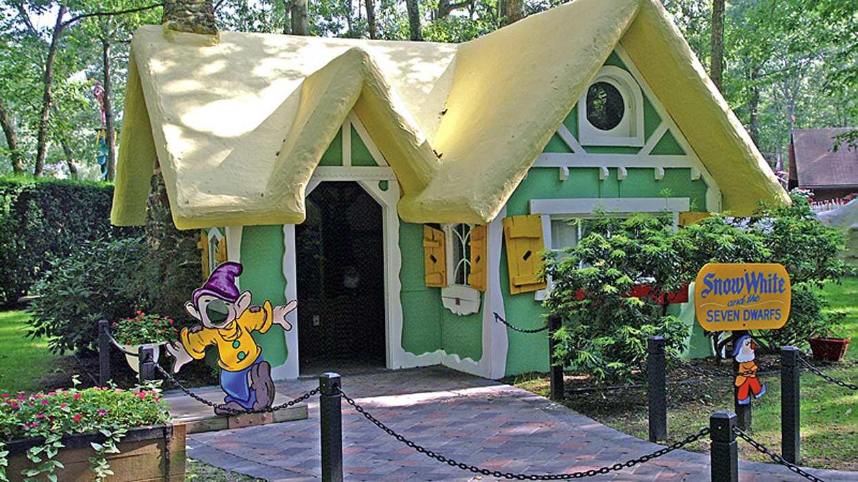 Storybook Land New Jersey Seven Dwarfs House