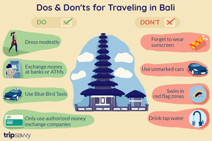 Dos & Don'ts for Traveling in Bali