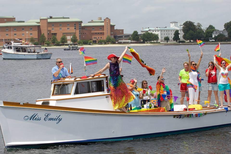 Hampton Roads Pridefest Boat Parade