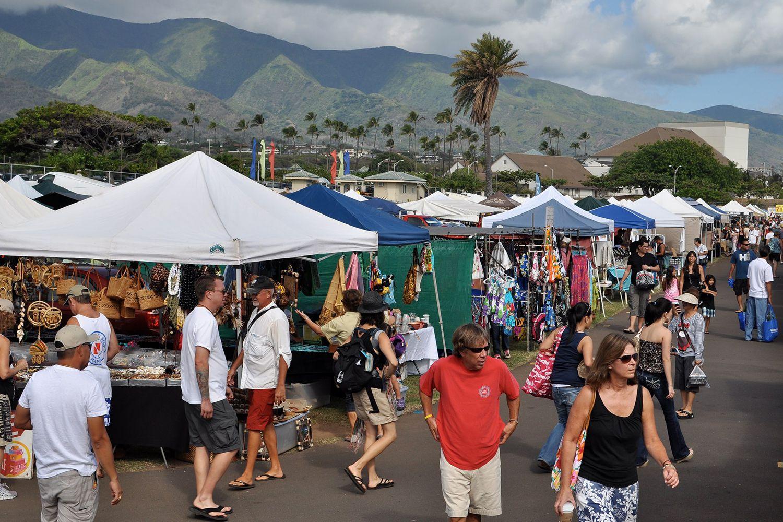 Maui Off Road >> Flea Markets, Swap Meets, and Craft Fairs on Maui
