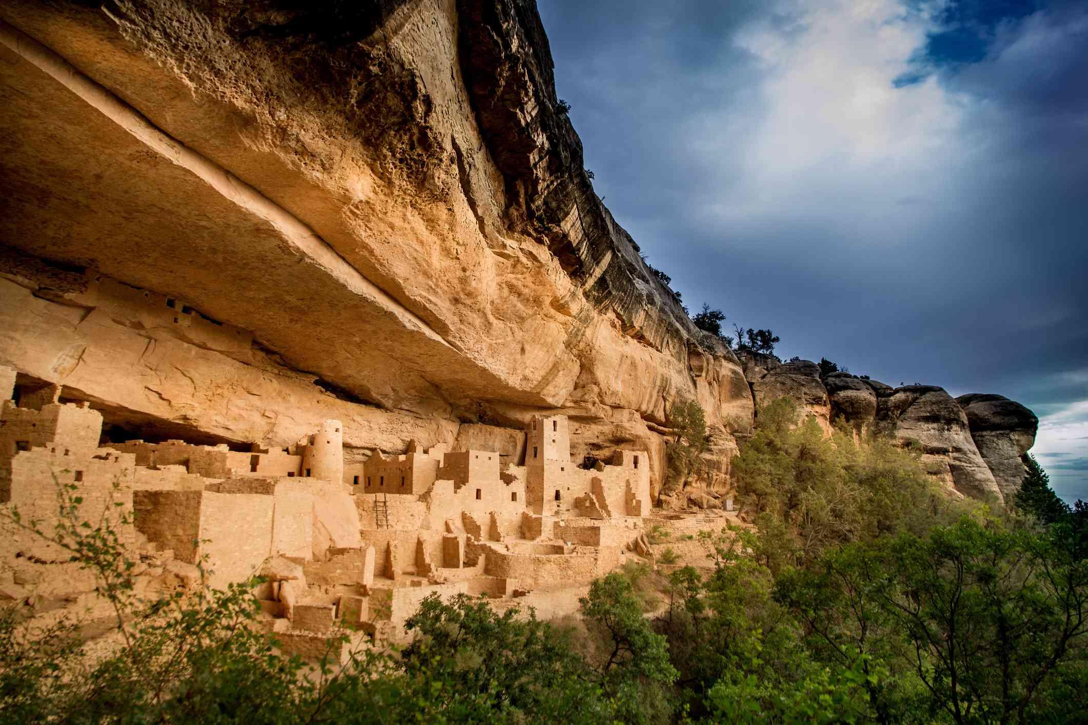 Estados Unidos, Colorado, Montezuma, Palacio y el Parque Nacional Mesa Verde