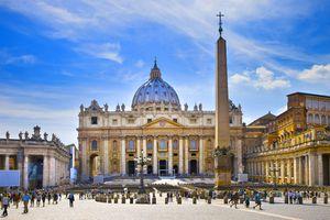 View of Vatican City .