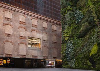CaixaForum exhibition center in Madrid, Spain