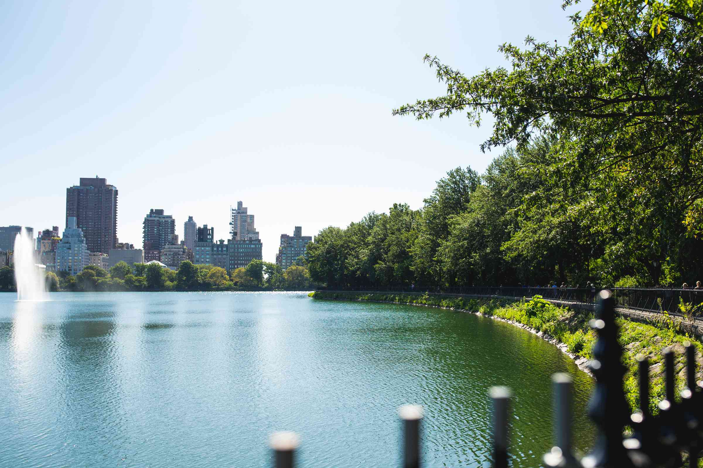 The Reservoir in Central Park, NYC