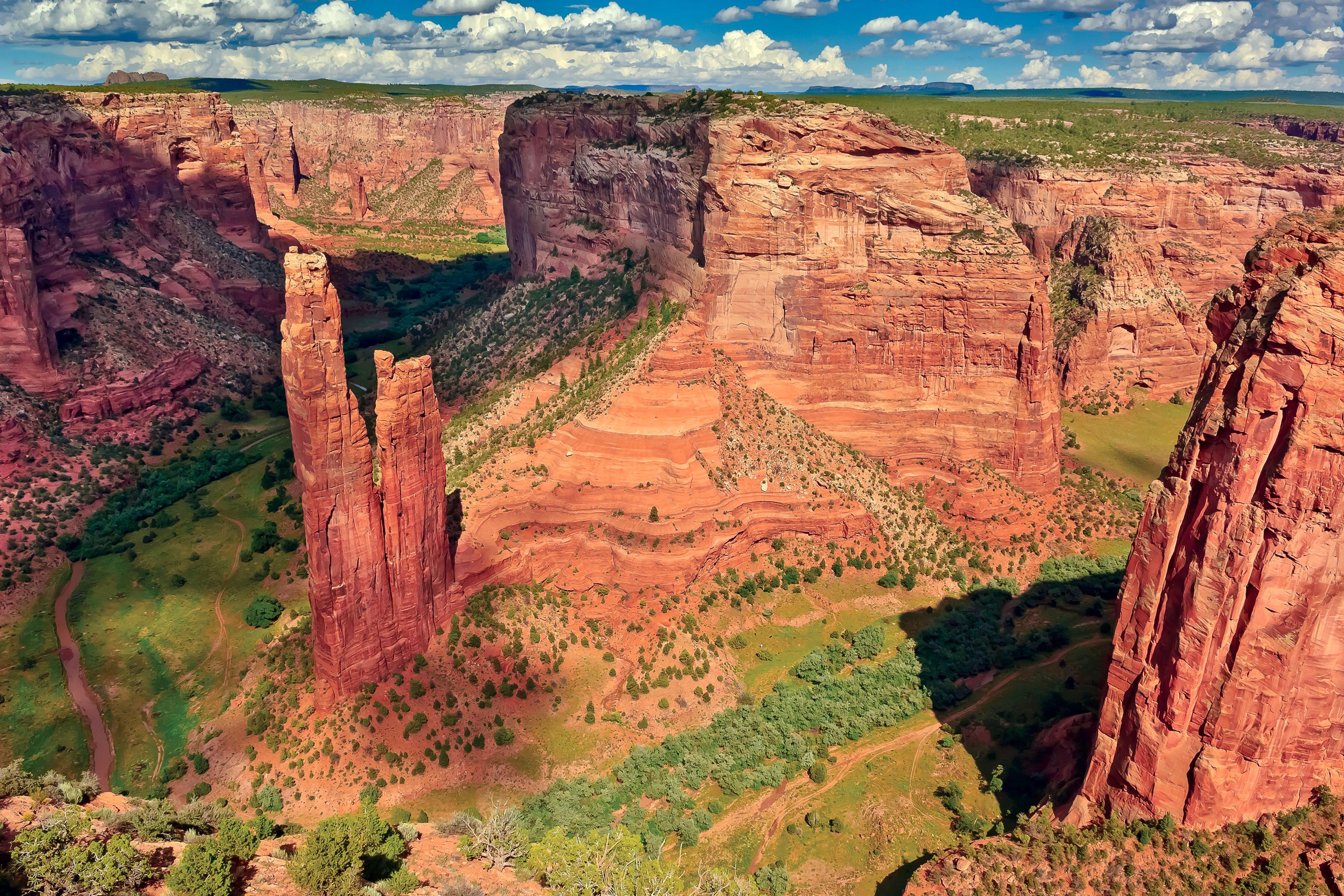 Canyon De Chelly National Monument, Arizona, America, USA