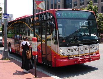 Transportation in Washington, D C  - Car, Metro, Bus and Taxis