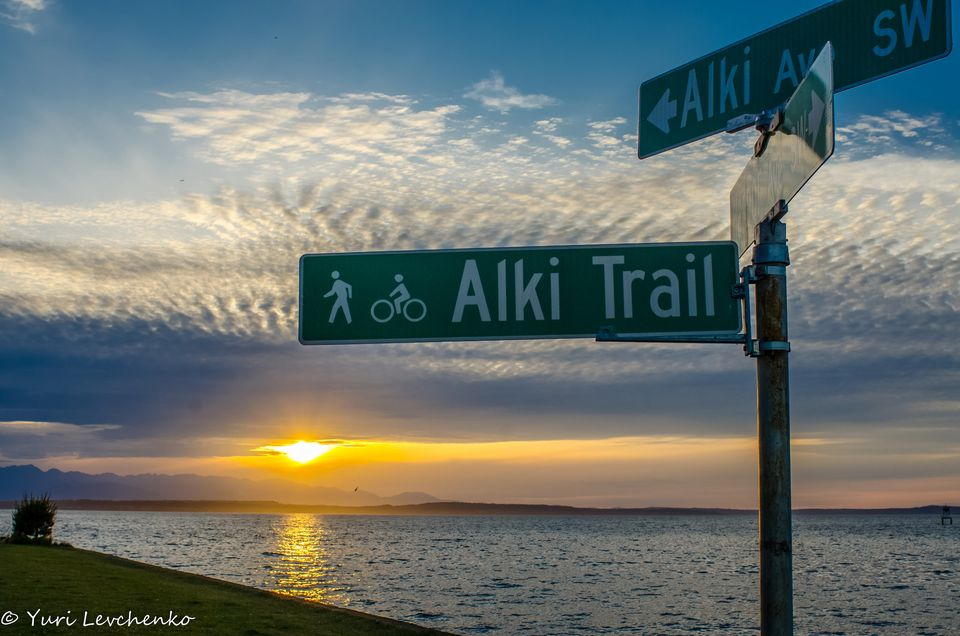 Alki Trail Seattle