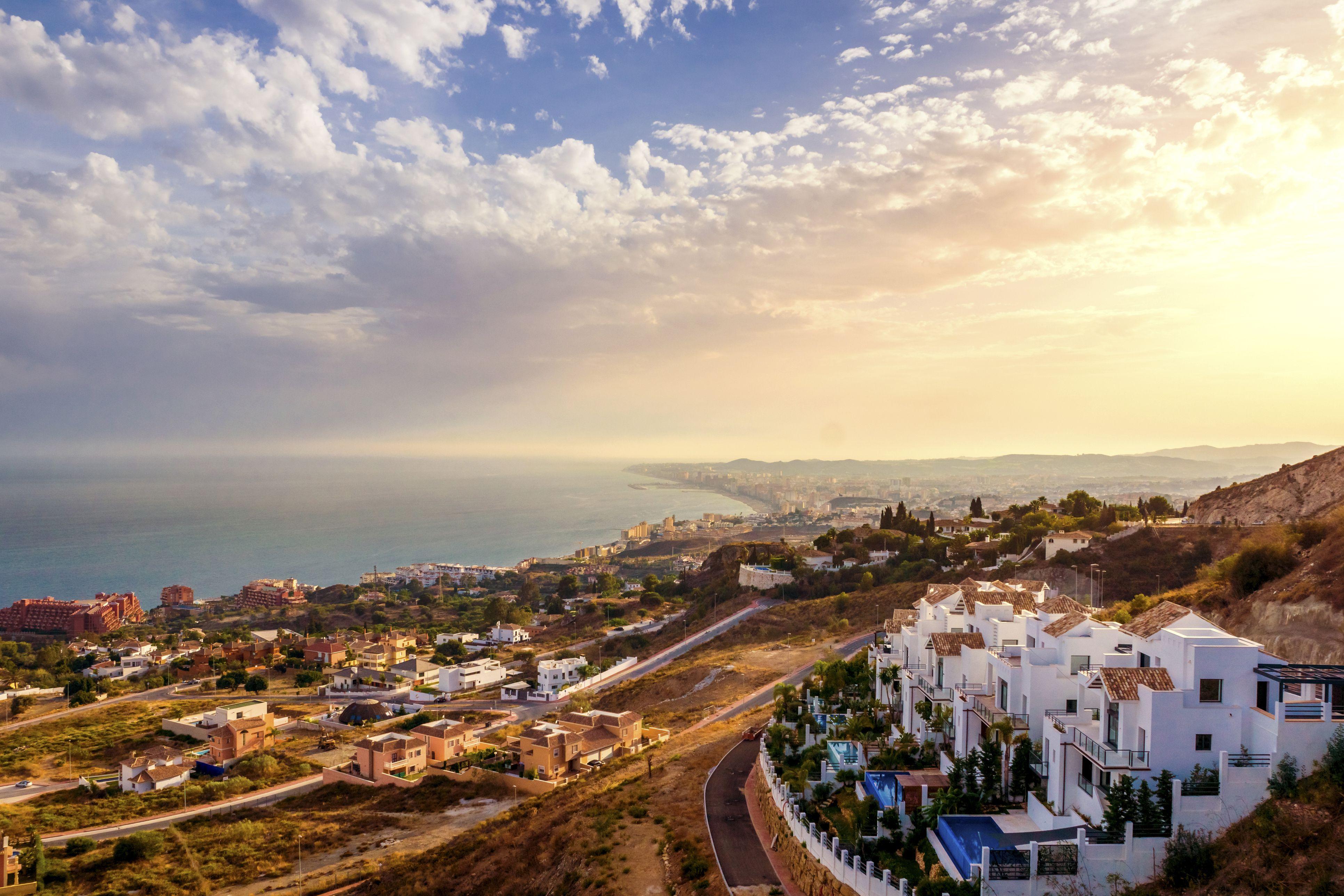 España, Andalucía, Málaga, Marbella, Panorama