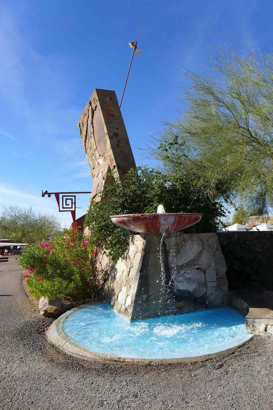 Frank Lloyd Wright And Taliesin West In Scottsdale Arizona