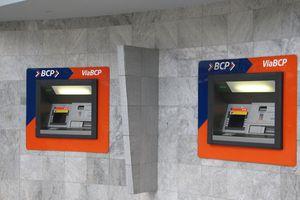 Banco de Crédito (BCP) ATMs in Huaraz, Peru