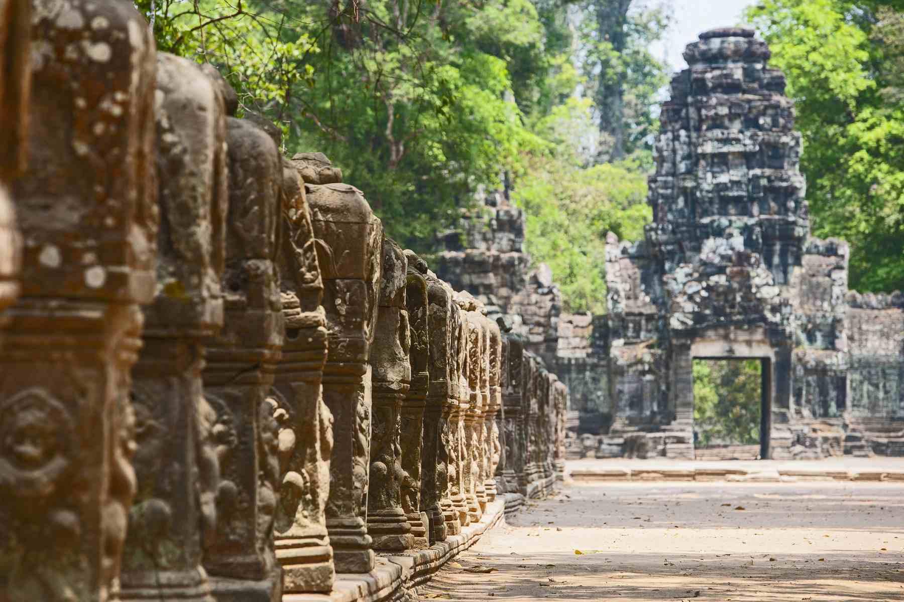 Entrance to Preah Khan