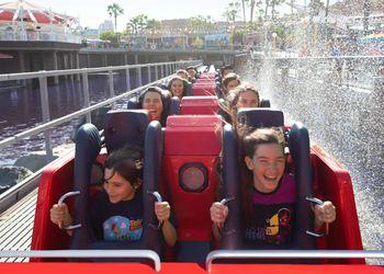 people writing the Incredicoaster at Disneyland