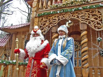 snegurochka is a part of the russian christmas tradition - Russia Christmas