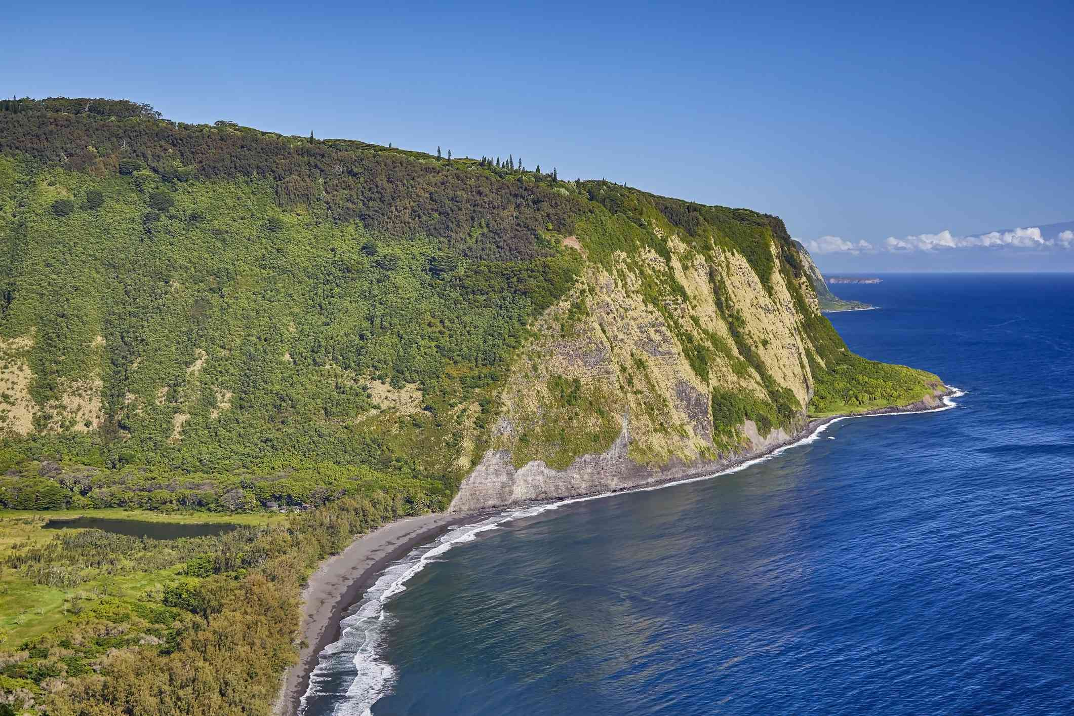 Hamakua Coast on Hawaii Island