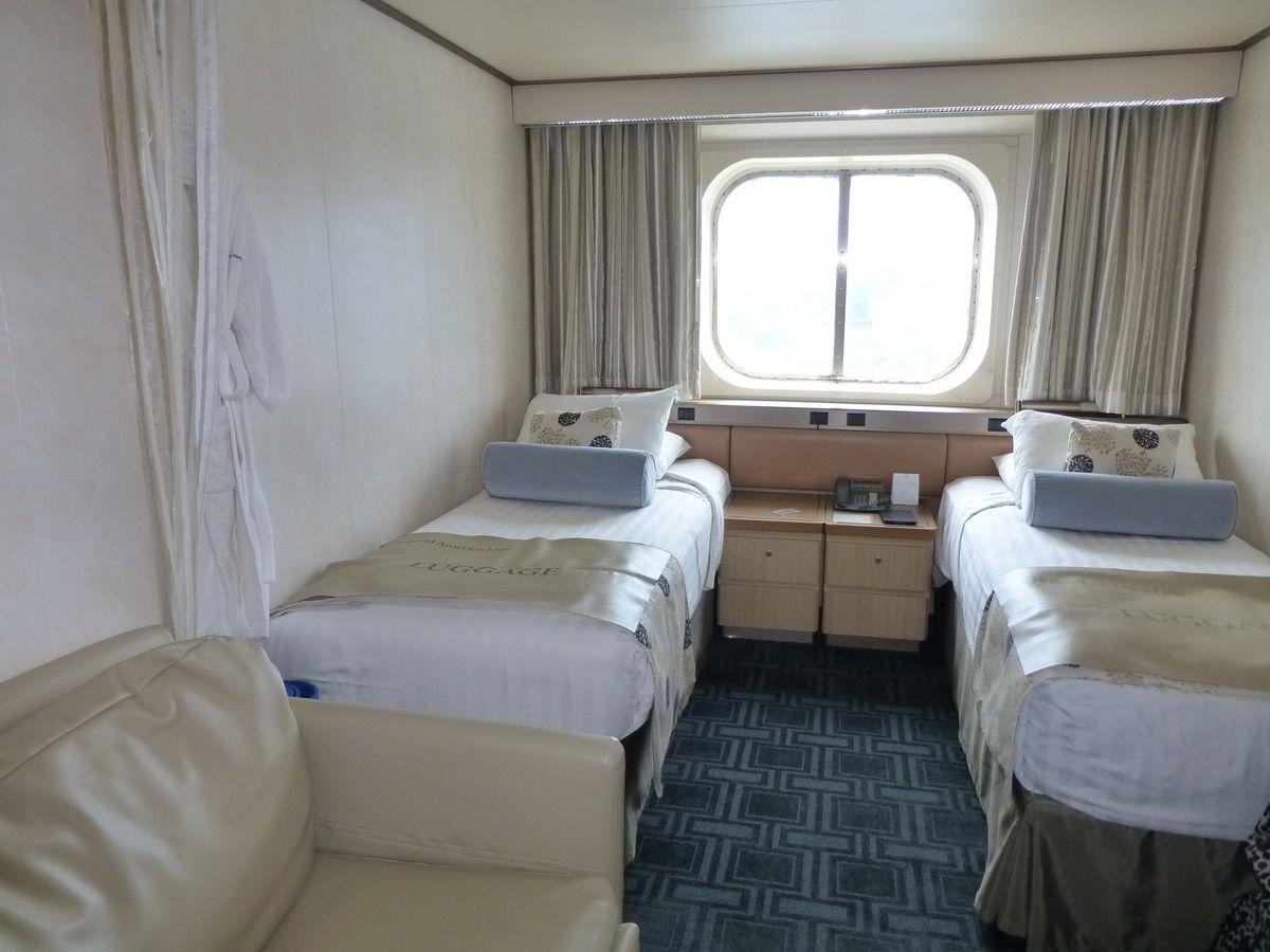 Maasdam Oceanview cabin #116