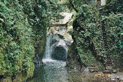 Waterfall near Mindo