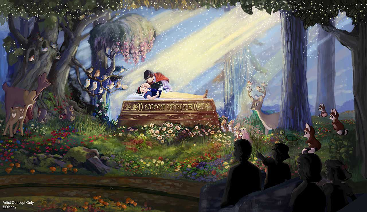 Snow White ride Disneyland