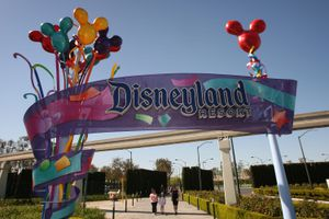 Disneyland Anaheim entrance