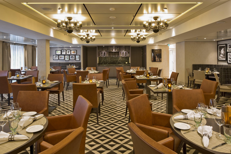 Manfredi's Italian Restaurant on the Viking Sea cruise ship