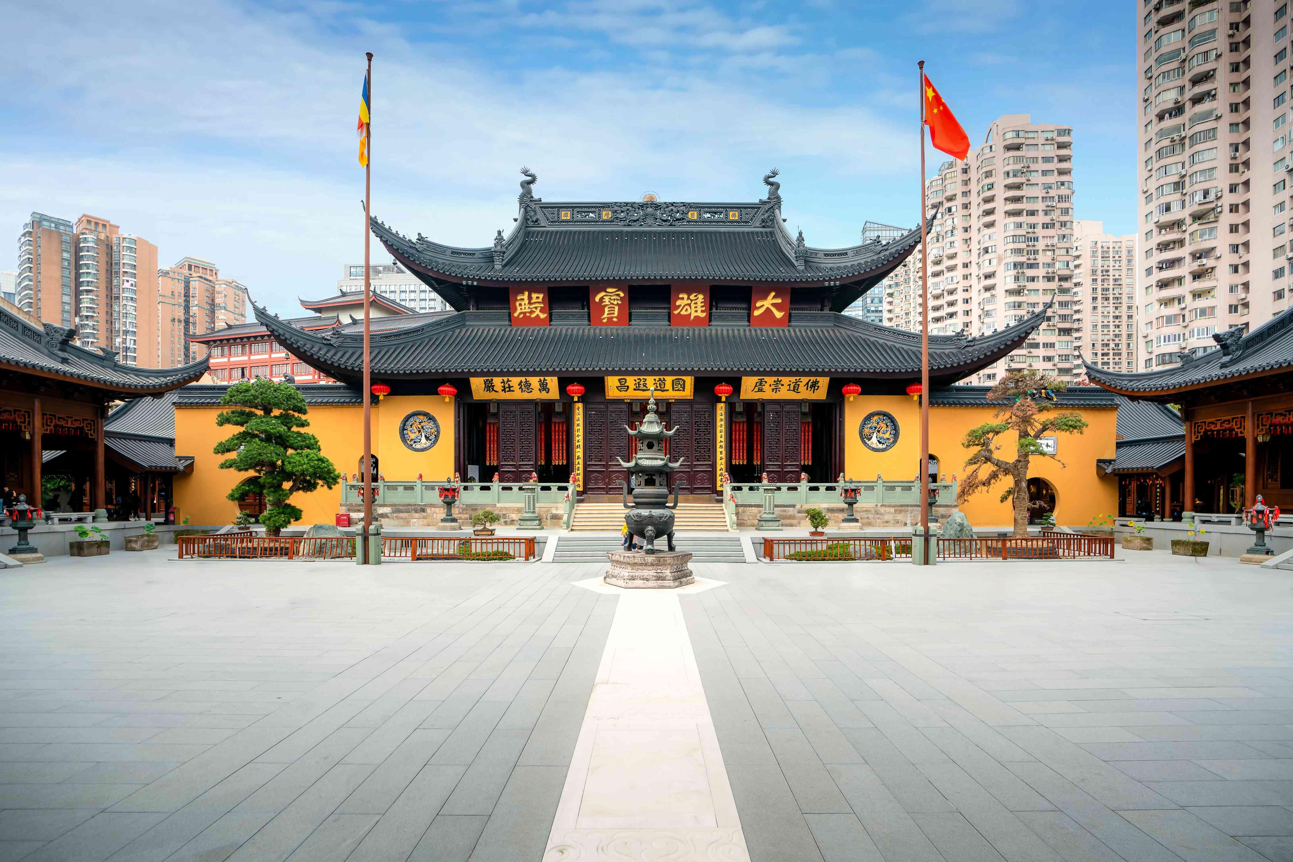 The Jade Temple in Shanghai