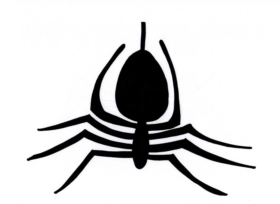 Spider Pumpkin Carving Pattern - Spidey