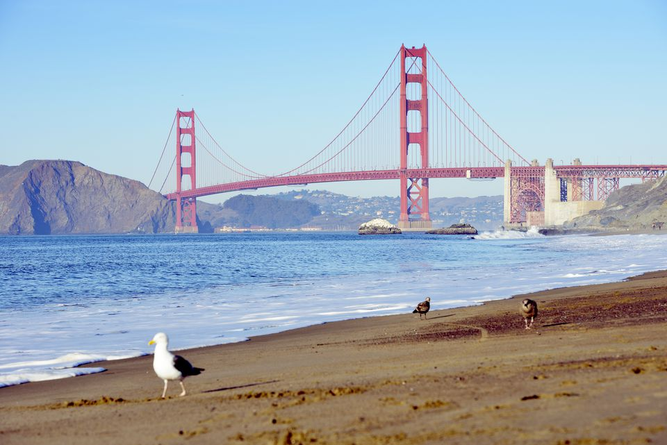 Baker Beach, San Francisco, California