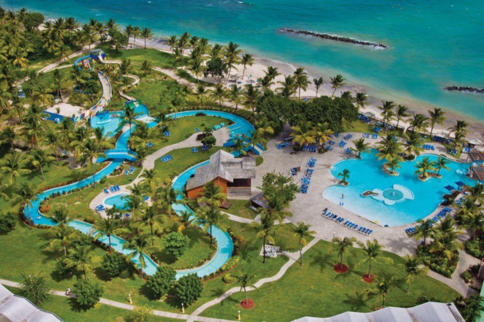 Overhead Shot of Coconut Bay Beach Resort & Spa