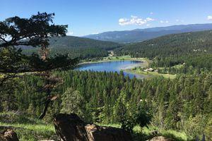 Scenic View of Whitefish, Montana