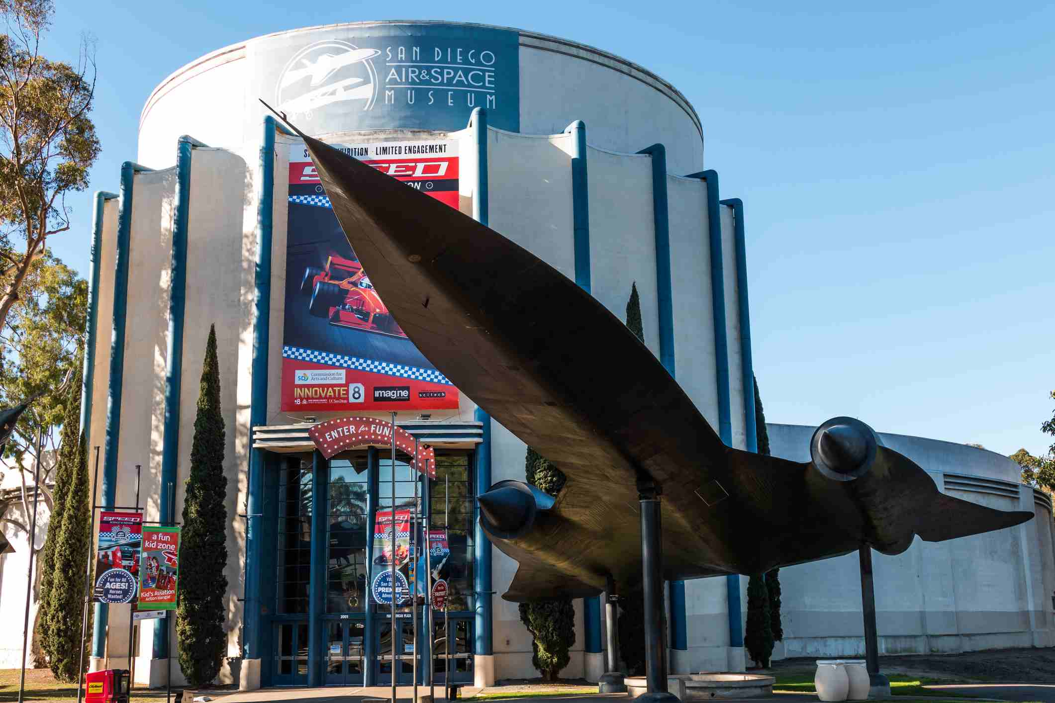 Balboa Park Air And Space Museum In San Diego
