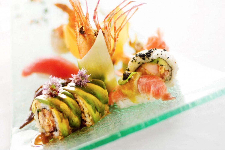 Sushi Rolls at Roy's Pebble Beach