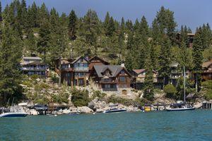Lakefront Homes, California