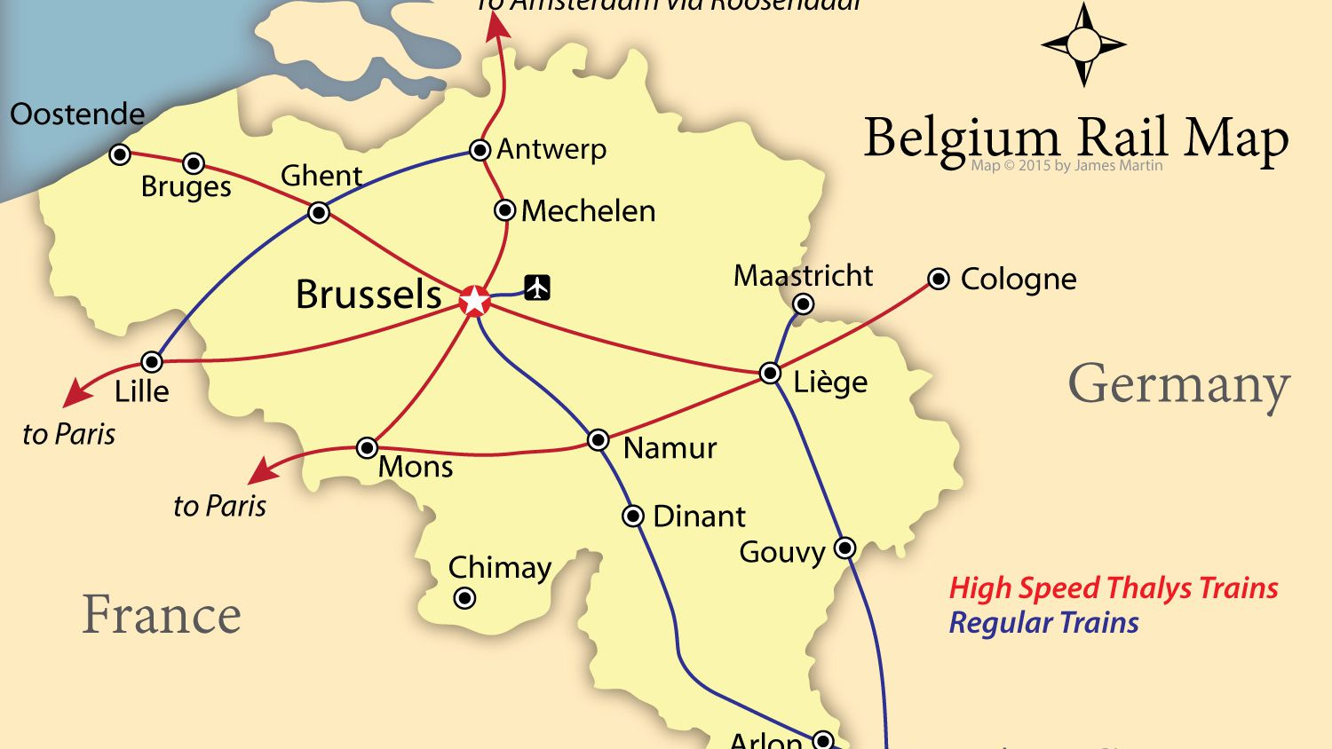 map of belgium towns How To Get Around Belgium Like A Local map of belgium towns