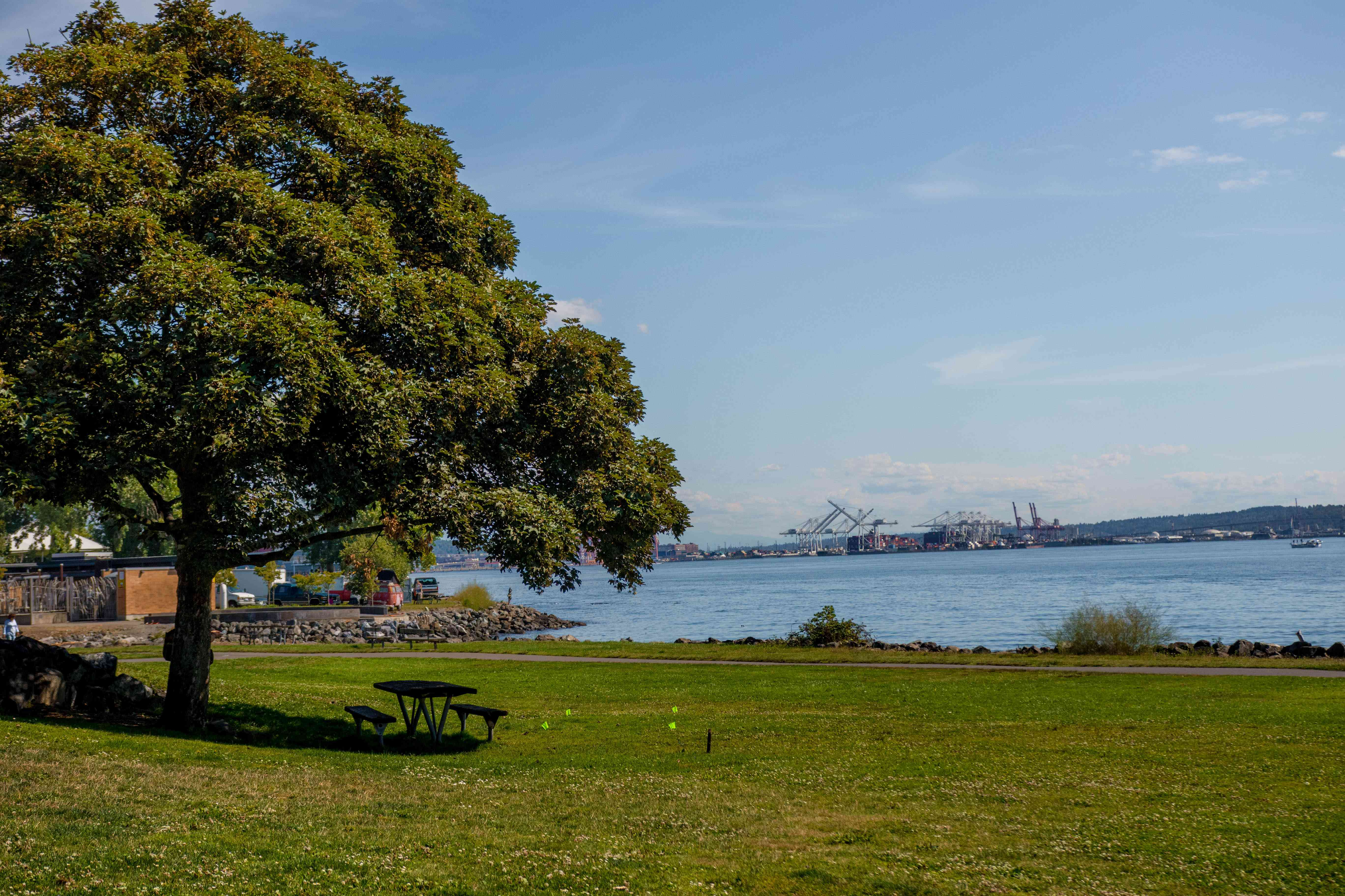 Myrtle Edwards Park en Seattle, Washington