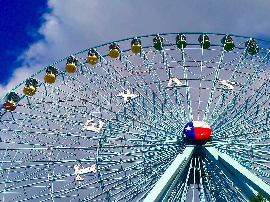 Texas Star Ferris wheel. Texas State Fair. Dallas Texas