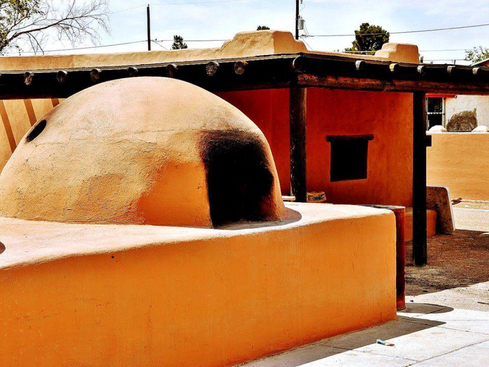 Pueblo in the museum