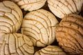 Mexican Conchas sweet bread