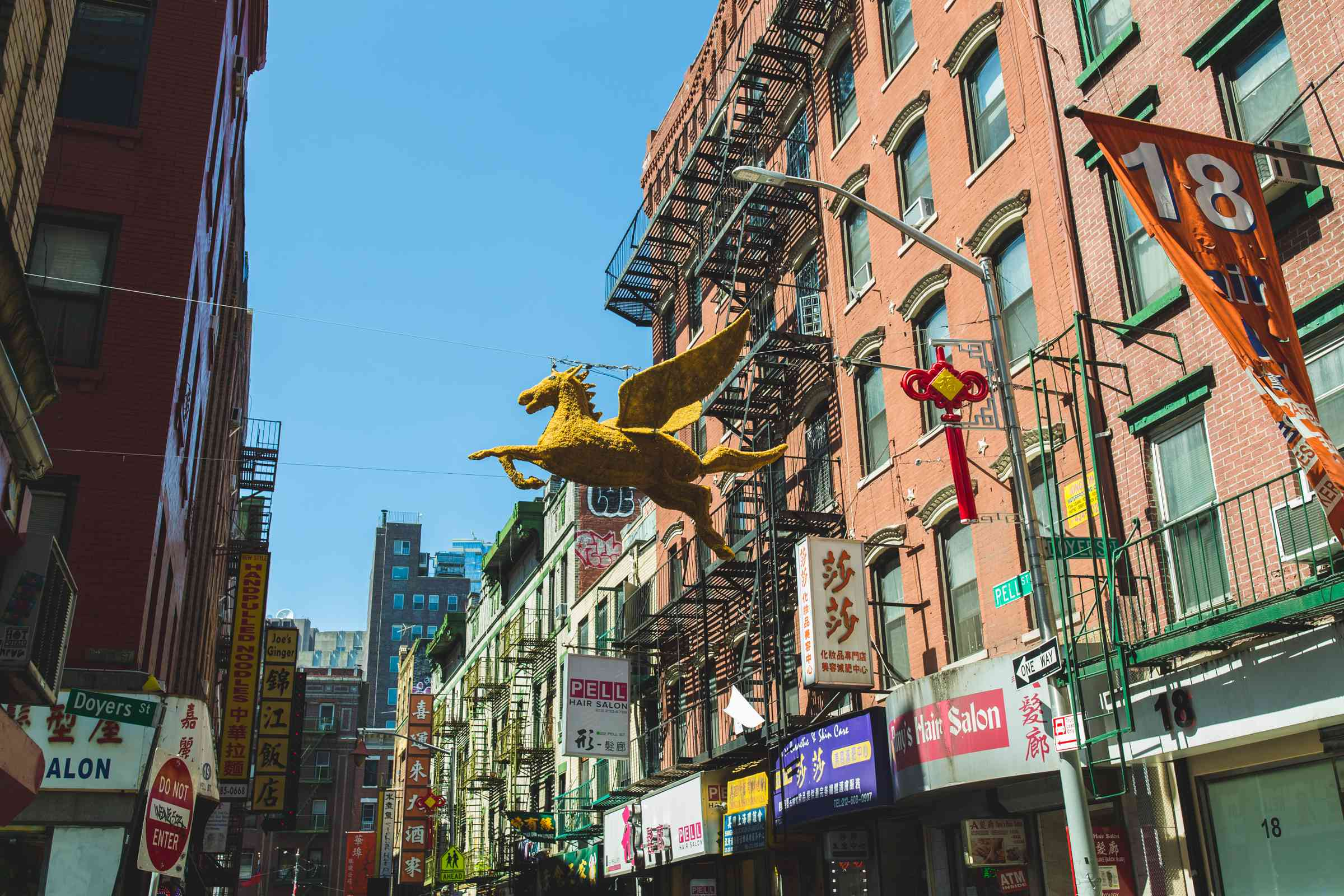 Chinatown in NYC, NY
