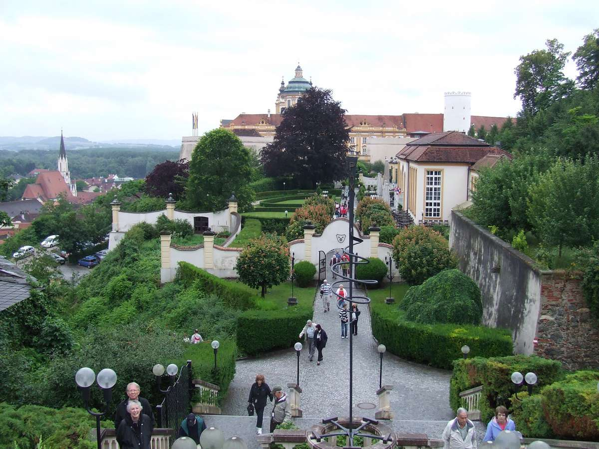 Melk Abbey Grounds and Gardens