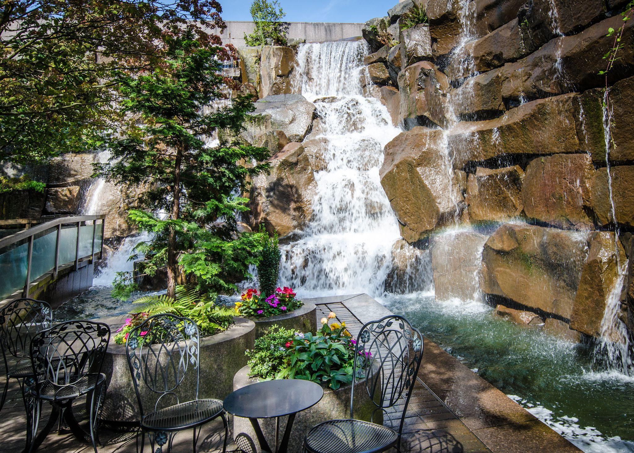 Waterfall Park Pioneer Square