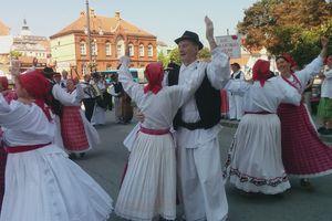 Traditional folk dress in Croatia