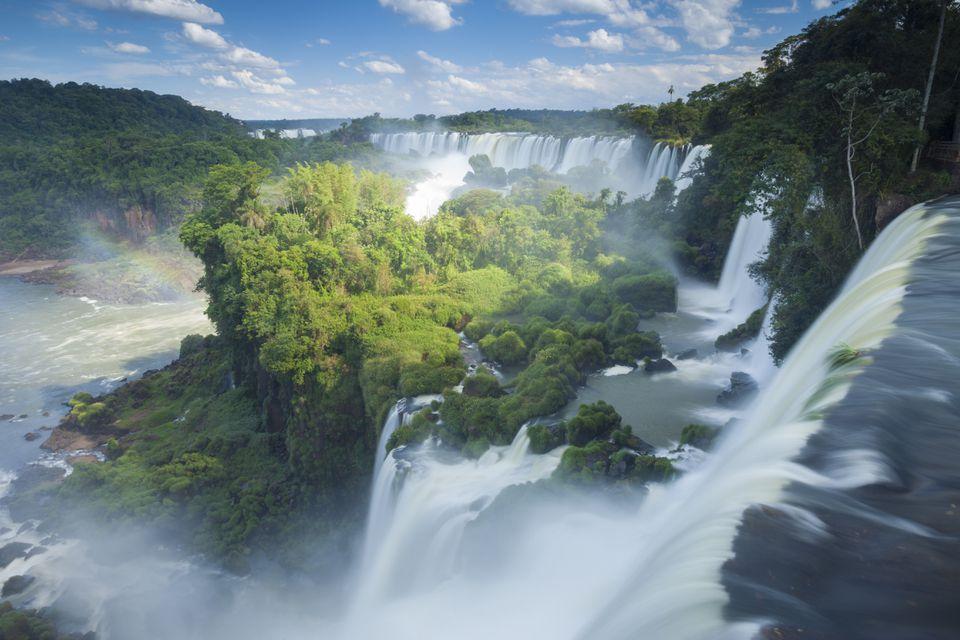 Igauzu Falls in Argentina