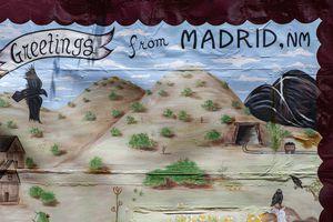 A mural in Madrid, NM