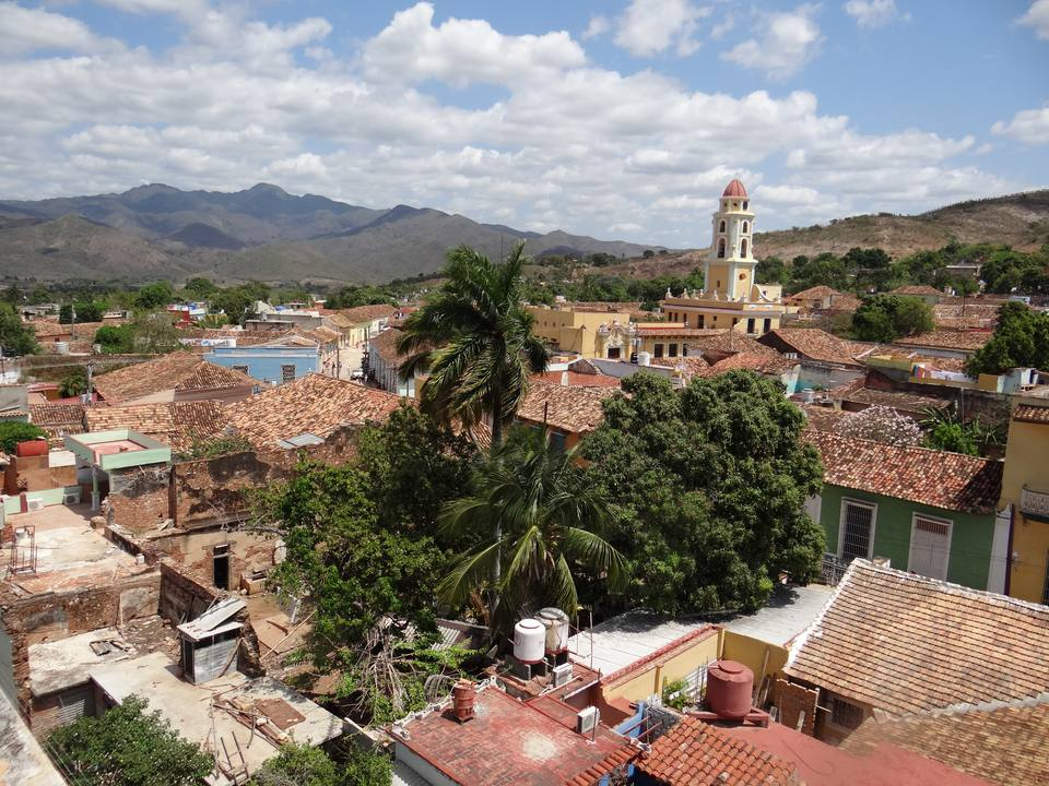 Trinidad, Cuba as seen from the top of the tower at the Municipal Historical Museum
