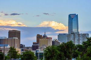 The Oklahoma City skyline