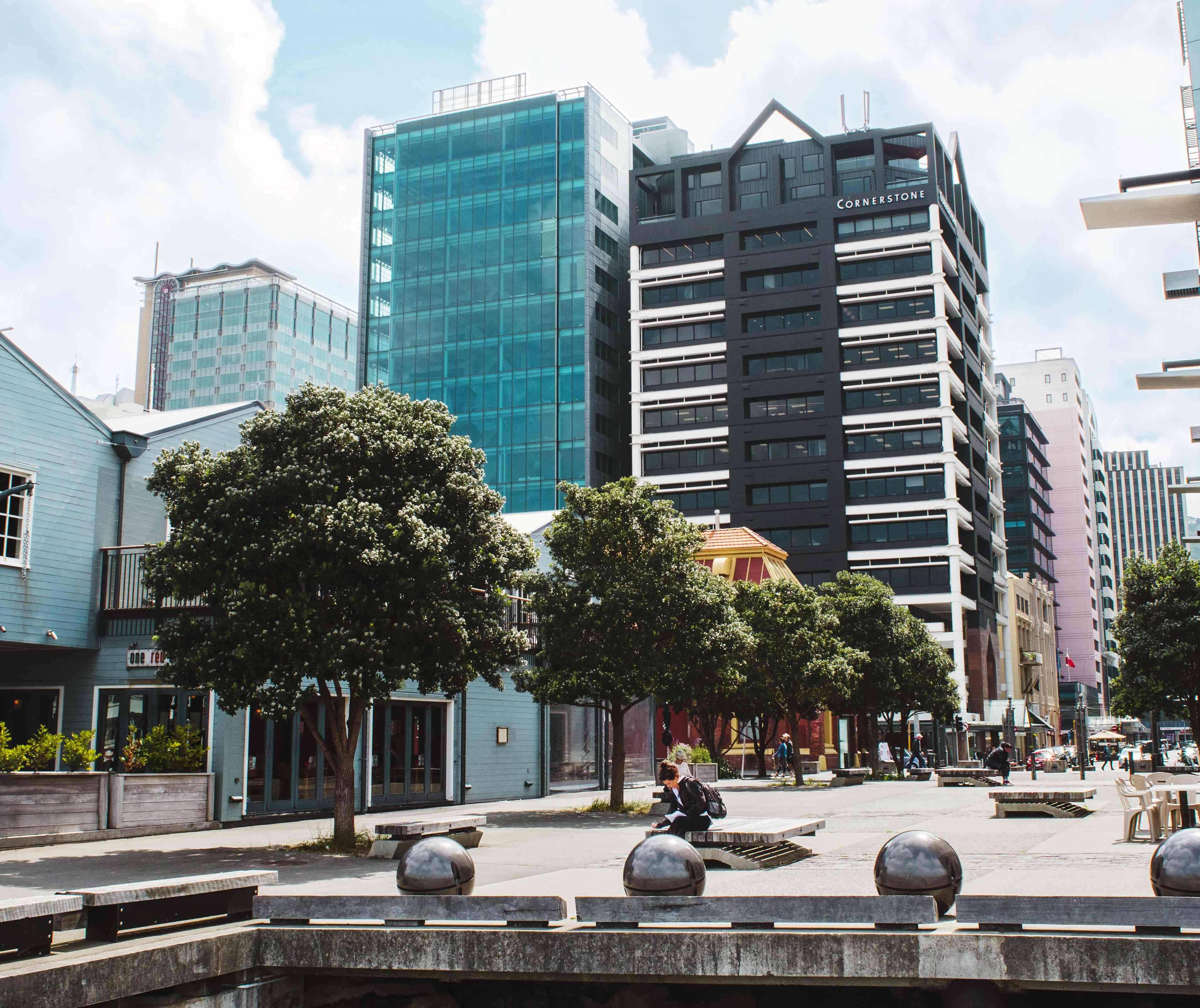 Edificios en el centro de Wellington