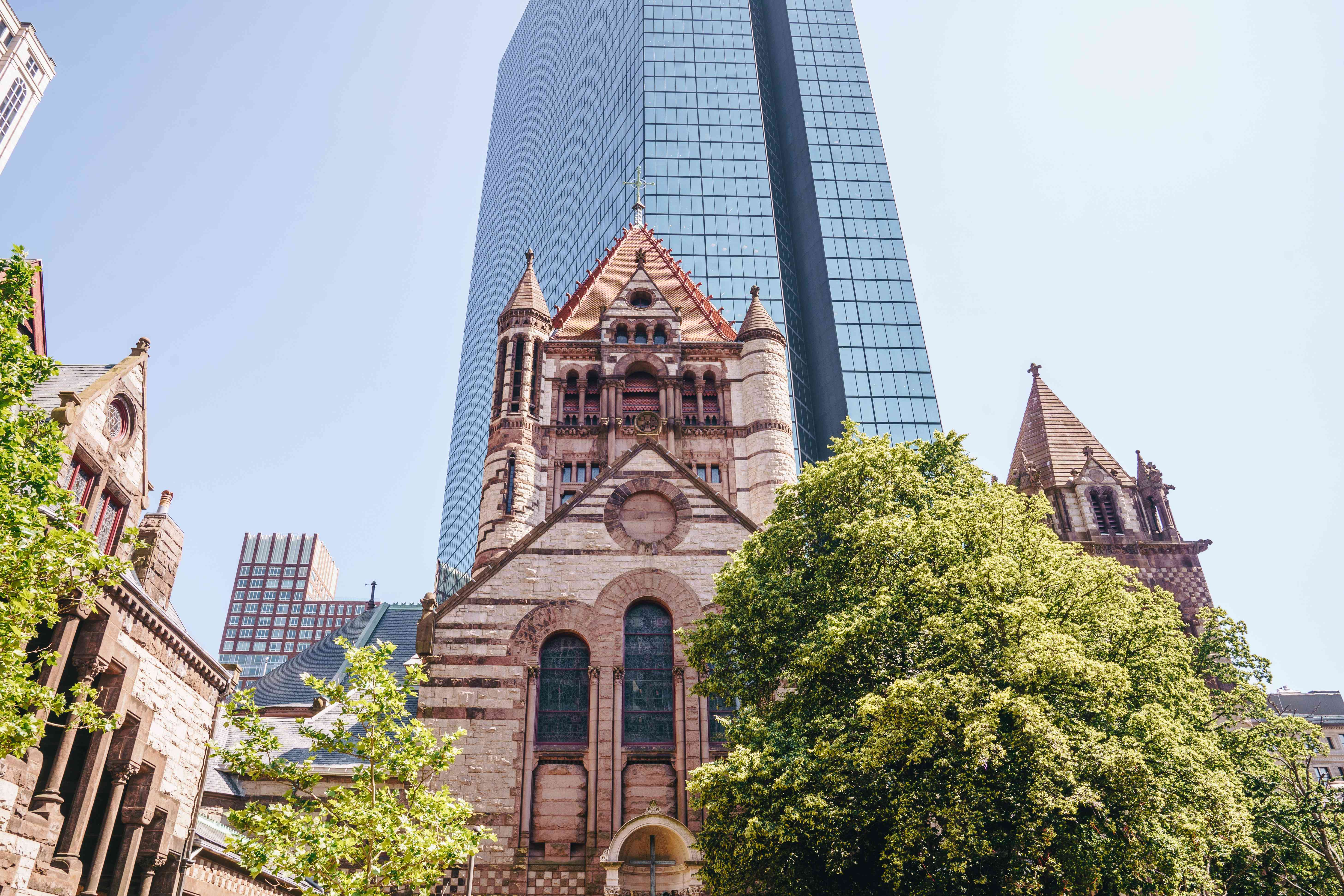 A cathedral in Back Bay